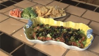 Seven-layer Mexican Dip Recipe With Refried Beans : Southwestern Cooking
