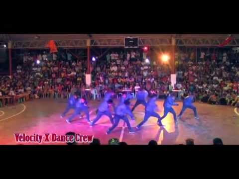 Velocity X Dance Crew Pandan Antique performance