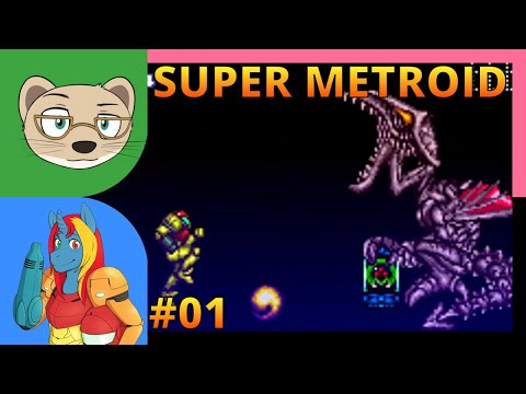 Super Metroid with IndieTimmie Part 1 — Super-challenging bosses — Yahweasel