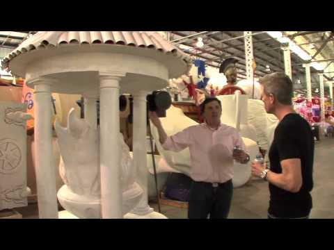 Tour Blaine Kern's Mardi Gras World with Brian Kern