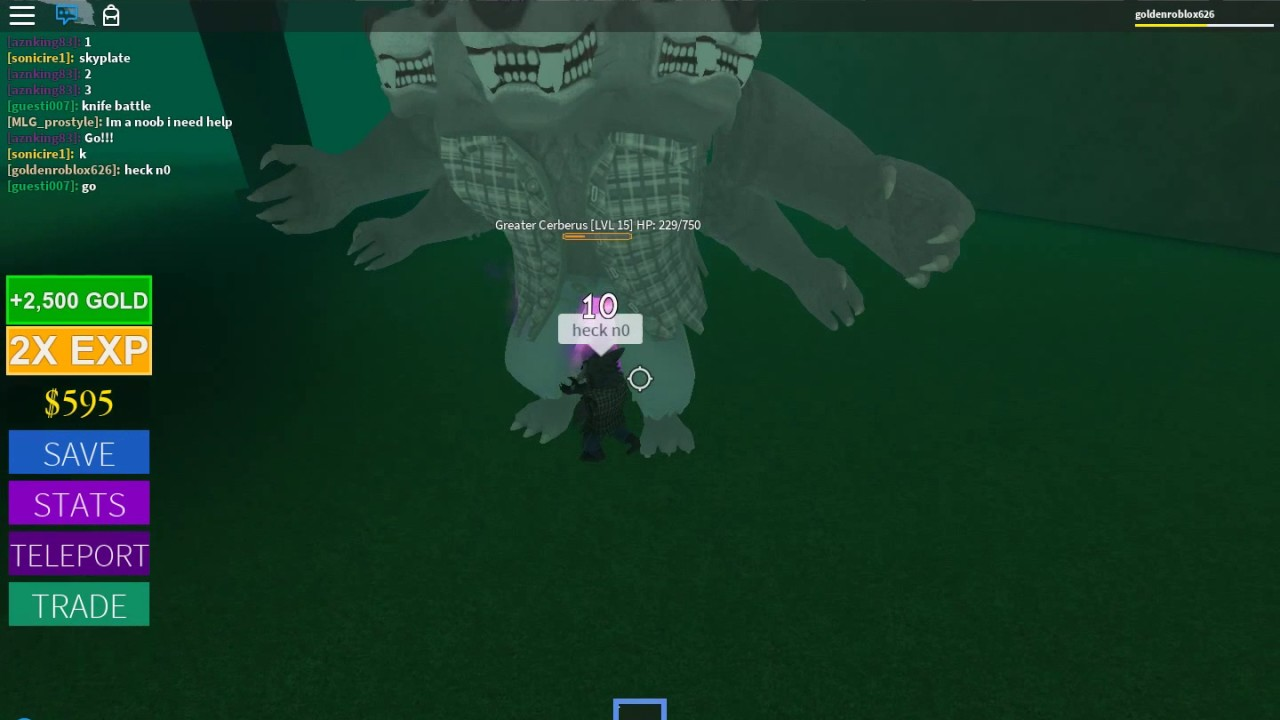 roblox cerberus boss dragon storm