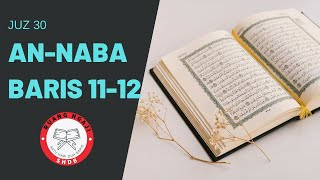 Download lagu SHDB - Juz 30 An-Naba' 11-12