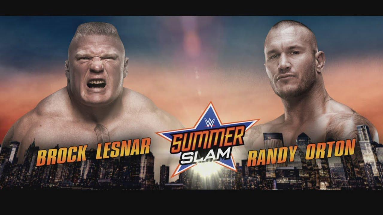 brock lesnar s opponent for summerslam revealed smackdown july 7