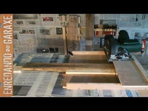 Plantilla para sierra de disco circular saw jig cross - Sierra para cortar madera ...