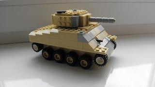лего как сделать танк шерман