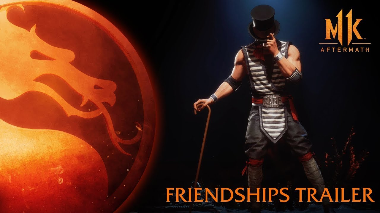 Mortal Kombat 11: Aftermath expansion Friendships trailer