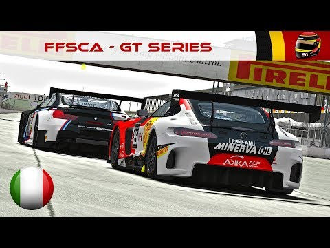 FFSCA 2017 - Round 1 - GT Series (Misano) [FR ᴴᴰ]