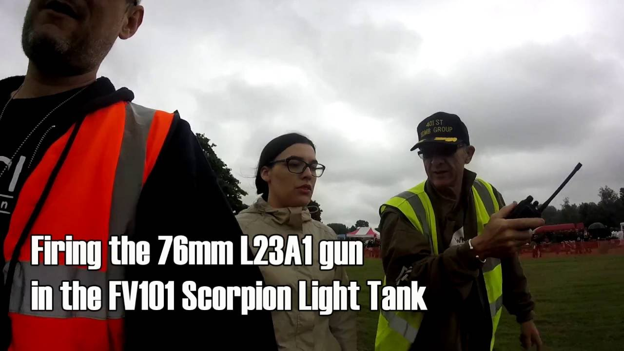 Fired my first tank gun!!! – FV101 Scorpion Tank – « Status