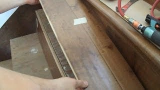 Prefinished Stair Treads Installation: How To Measure, Mark And Cut