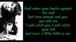 Have a Little Faith in Me - John Hiatt (Lyrics, HD)
