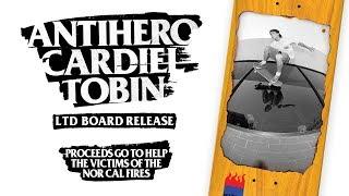 John Cardiel x Tobin Yelland Antihero Board to Benefit Fire Victims