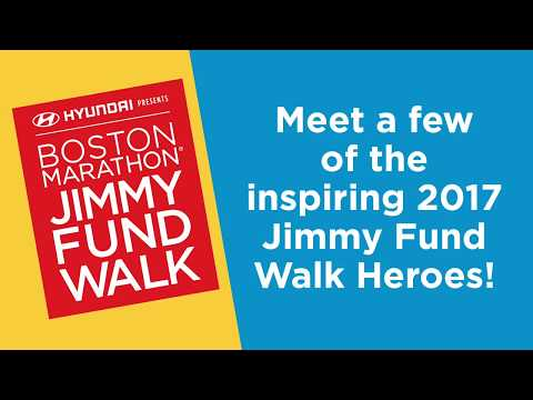 Meet some of the 2017 Jimmy Fund Walk Heroes!