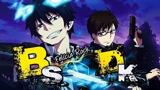Rap do Okumura Rin e Yukio ( Ao no Exorcist ) Ft. Felícia Rock e DKZOOM | BlackSagaro 75