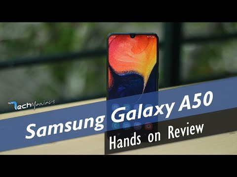 Samsung Galaxy A50 Hands on Review [Greek]
