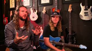 "Dirty Heads - ""Warming Sun"" Ernie Ball Set Me Up Session"