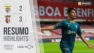 Highlights   Resumo: Benfica 2-3 SC Braga (Liga 20/21 #7)