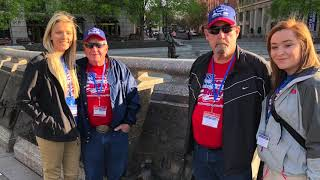 2018 Kansas Honor Flight Wamego High School Trailer