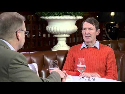 Harri Lindellin haastattelussa  Esko Seppanen, aiheena Wahlroosin kirja.