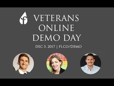Veteran's Online Demo Day (Dec 5, 2017)