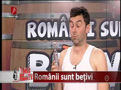 Times new roman - 2014 Romanii sunt betivi