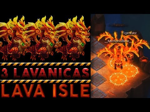 3 LAVANICAS OWNING | LAVA ISLE 3 | CASTLE CLASH