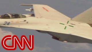 Chinese fighter jet buzzes U.S. navy plane