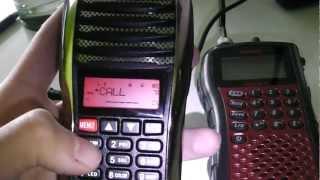 5 Tone demo TYT UVF1 calling other radios