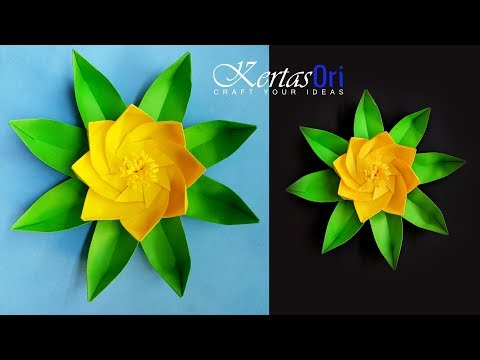 DIY - Fresh Paper Flower For Decoration | Paper Craft | Home Decor