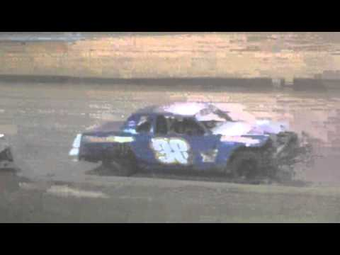 Ark La Tex Speedway Factory stock heat race 3 part 2 cajun classic 2015