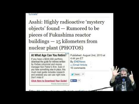 Fukushima Fears In Death Of Pacific Ocean
