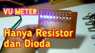 Cara Membuat Led VU Display Tanpa Transistor Dan IC