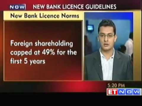 RBI Releases Norms for New Banking Licences