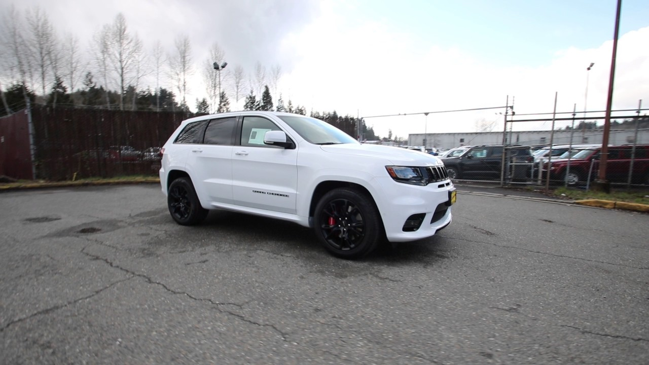 2017 Jeep Grand Cherokee Srt Bright White Clearcoat Hc801821