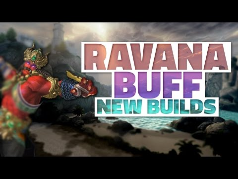 SMITE: RAVANA BUFF! | New Build for Jungle & Solo