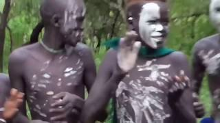 African Tribes life Hamar people isolated tribe native Rituals of Hamar Tribe at Ethiopia