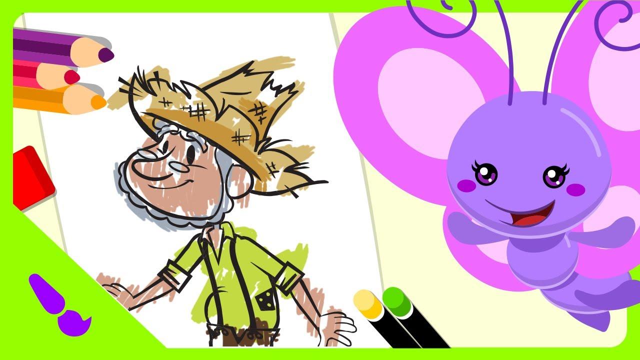 Galinha Pintadinha Mini Pintura Magica Seu Lobato Youtube