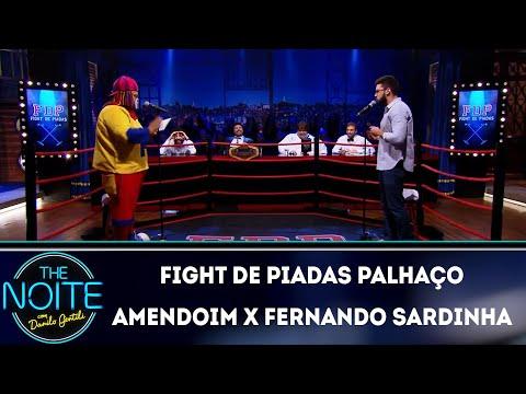 FDP 2019: Palhaço Amendoim x Fernando Sardinha - Ep 6  The Noite 160419