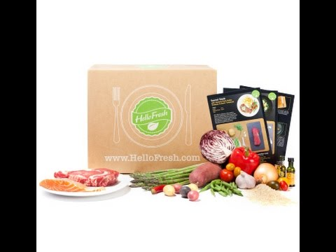 Hello Fresh Classic Box Food Delivery Plan Subscription Box Free