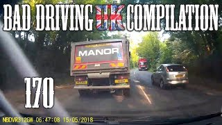 Bad Driving UK Compilation 170