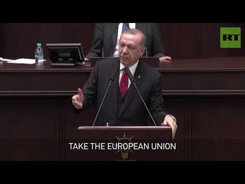 'Is Venezuela your state?' Erdogan slams US & EU over Guaido endorsement
