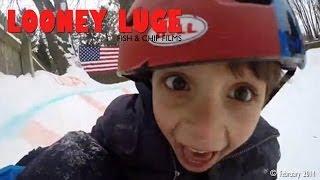 Looney Luge (backyard luge) - Original