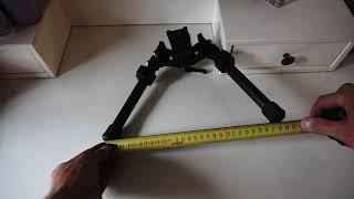 распаковка и краткий обзор копии сошек LRA вес 602 грамма