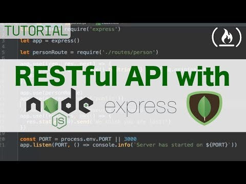How to Build a RESTful API using Node, Express, and Mongo