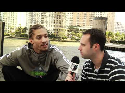 Michael Beasley | On the Hot Seat Interview With the Minnesota Timberwolves
