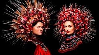 невероятно красивые украинские венки !!