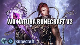 [Shadowverse]【Rotation】Runecraft Deck ► WU Natura Runecraft v2-4 ★ Master Rank ║Season 46 #696║