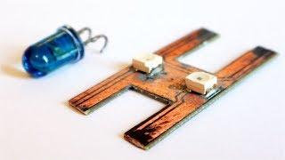 светодиод и фототранзистор