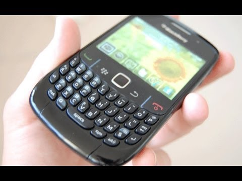 Update phone software - BlackBerry 8520 Curve