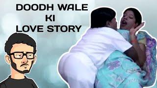 EK DOODH WALE KI LOVE STORY 2020 || HOT BHABHI KI LOVE STORY ROAST #carryminati