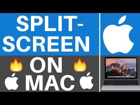 Mac OS Sierra: How To Split Screen Windows